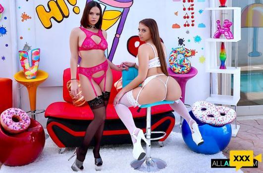 All Anal - Violet Starr & Gia Derza