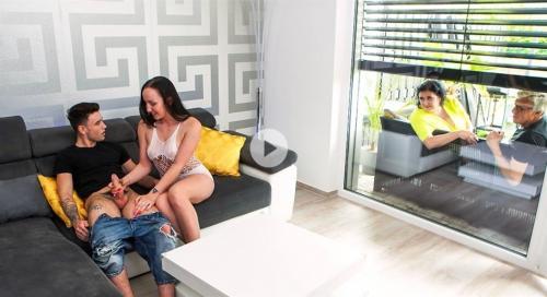 Mia L, Bella Angel, Miranda Steel - Stepdaughter joins horny parents part 1 1080p